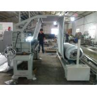 China Simple Type Cloth Fabric Roller Machine , Programmable Fabric Inspection Machine on sale