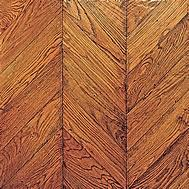 Cheap Solid wood Oak Chevron Parquet flooring for sale