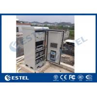 China Telecom Outdoor Enclosure Galvanized Steel 1.5mm Thickness 19'' Installation With Air Conditioner on sale