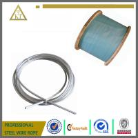 China 1x19 1x7 2.7mm Galvanized Steel Strand For Catenary Wire on sale