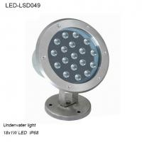 Cheap High quality 18W outside IP68 LED Underwater light for fountain for sale
