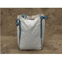 Cheap 650kg Loading FIBC Jumbo Bags , Builders Bags / Builders Sacks / Bulk Sandbags for sale