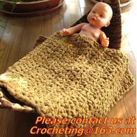 Cheap baby photo props handmade knit baby blank, table cover, handmade crochet, blanket, clothes for sale