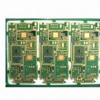 Cheap Multilayer PCB, Immersion Gold Finish for Telecommunication, 6-layer PCB, ENIG Finish, Multilayer for sale