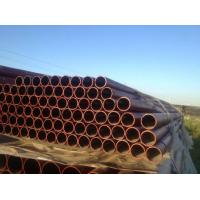 China W Type EN 598 Ductile Black Iron Pipe C151 / A21 , Large Diameter Ductile Steel Pipe on sale