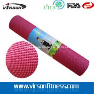 PVC Yoga Mat, Yoga Accessory, Fitness Gym Exercise Mat