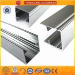 Cheap 1.1 Thinckness Polished Aluminium Alloy Profile Surface Brightness for sale