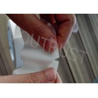 China Embossed White Safety Tape Viny Easy Tear Packaging Free Knife ROHS on sale