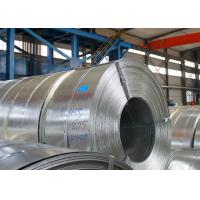 Cheap Q195 Hot Dip Galvanized Steel Strip Thickness 2.0mm / 2.5mm 3 - 8 Ton Weight for sale