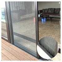 Trackless / Barrier-free insect screen doors with pleated polyeater insect screen mesh