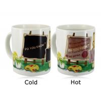 Cheap Promotional Items Color Change Magic Coffee Cup Color Changing Magic Mug wholesale