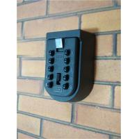 Cheap 10 Digit Push Button Safety Wall Mounted Key Box Keyless Weather Resistant for sale