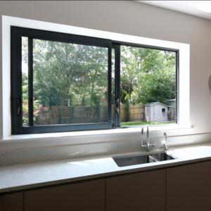 Cheap Aluminium windows aluminium frame sliding glass window aluminium window grill design for sale