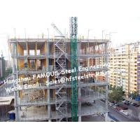 China Q345 Pre Engineered Metal Buildings And Structure , Prefab Steel Buildings on sale
