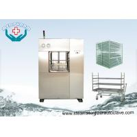 Cheap Electric Vertical Lift Double Door Autoclave With Easy Access Loading Trolleys wholesale