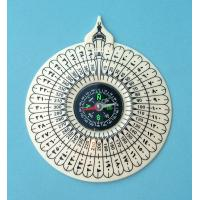 Cheap qibla compass 70MM with factory lowest price for muslim for sale