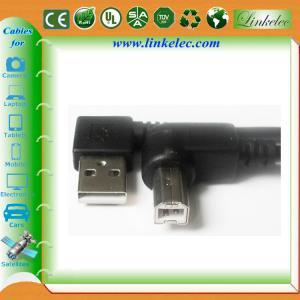 16FT ANGLE USB AM TO ANGLE BM,left angle AM TO Right angle BM cable