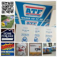 Cheap 24x18 3mm 4mm coroplast sign/ real estate sign/ lawn sign / corflute sign for sale