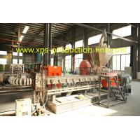 Quality Low Density Styrofoam XPS Foam Board Extrusion Line For Construction Foam Board for sale