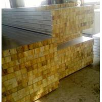 Cheap Glass Wool Insulated Roof Panels Foam Insulation Panels 80Mm Thickness for sale