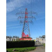 Buy cheap 132KV double circuit terminal tower from wholesalers