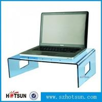 Cheap wholesale custom factory price clear acrylic laptop stand for sale