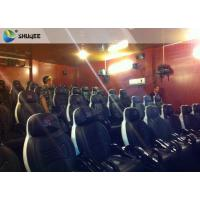 Cheap Integrating Simulating Luxury Cabin Box 5D Cinema System With Fiber Glass Material for sale