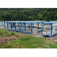 Cheap Customized Flat Pack Container House / Roof Shipping Storage Container Buildings for sale