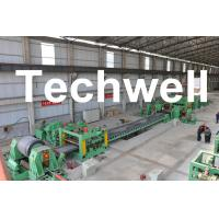 Cheap 0.3 - 3.0mm / 0.5 - 3.0mm Steel Coil Cut To length Machine Line With Auto Stacker System for sale