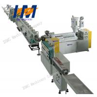 China PS Foam picture or photo frame profiles extrusion line for plastic molding on sale