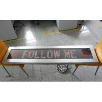 Quality outdoor airport vehicle led message sign board car FOLLOW ME display wholesale