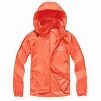 Cheap Ladies' Windbreaker Jacket with Lightweight Feature for sale