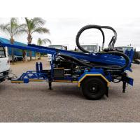 Cheap 200M  Trailer Mounted Portable Well Drilling Rig With 89mm Drilling Pipes for sale