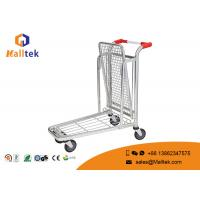 Cheap Convenience Logistics Trolley Chrome Plated Material Movement Trolley for sale