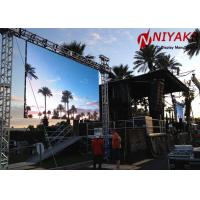 P8 Super Thin Full Color Advertising Screen Outdoor LED Video Curtain Rental