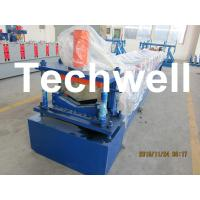 Cheap Manual / Automatical Decoiler Top Hat Cap / Ridge Flashing Roll Forming Machine for sale