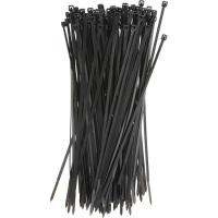 Cheap Plastic Tie Straps Releasable Nylon Cable Ties 200mm For Bunching Electric Cables for sale