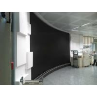 Buy cheap HD SMD P4 Flexible Led Screens , Round Curved Led Wall for Rental Show Advertising from wholesalers