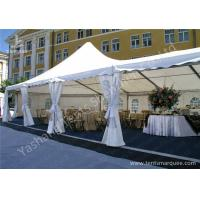 Cheap High Peak Assembled Frame Luxury Wedding Tents Marquee With Noble Decorations for sale