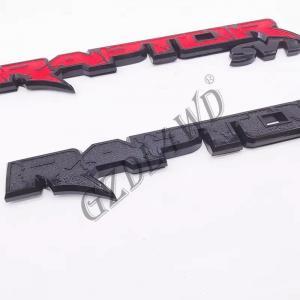 Cheap 14.7' 4x4 Body Kits F150 plastic AM TAPE Raptor Suv Tailgate Emblem Ranger Raptor Mark for sale