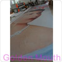 Quality Canvas / PVC Vinyl Banners Custom Banner Flags With Inkjet Printing wholesale