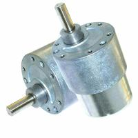 Cheap Sanitary Ware DC Small Worm Gear Motor 12V / 37mm Diameter Customized Voltage Range for sale
