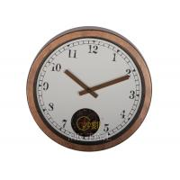 Cheap Classical Metal Gear Wall Clock , 12 Quartz Movement Clocks for sale