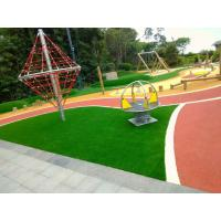 Cheap Outdoor Playground Soft Rubber Flooring / Weatherproof Rubber Granules Flooring for sale
