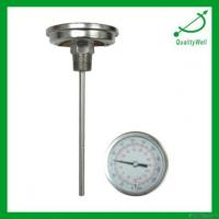 China Industrial Bimetal Thermometer on sale