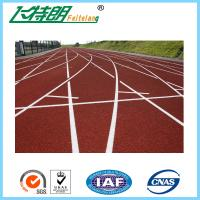 Cheap Spray Coat System Running Track Flooring All Weather Tracks Recycled for sale
