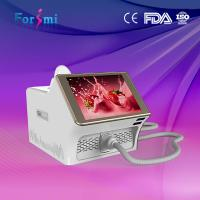 Cheap portable wavelength 808nm diode laser hair removal machine15inch capacitive screen 1-10Hz frequency for sale