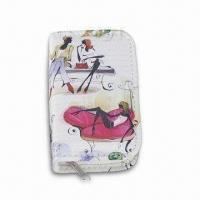 Cheap Manicure and Pedicure Set, Made of PU Leather, with Velvet Lining for sale