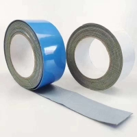 China Uv Resistant sealing Tape Pe Coated Aluminium Foil With Butyl Rubber Adhesive on sale