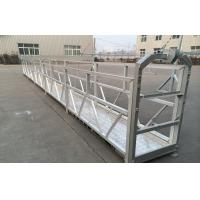 Quality ZLP Temporarily Suspended Platform Cradle For high-rise building for sale